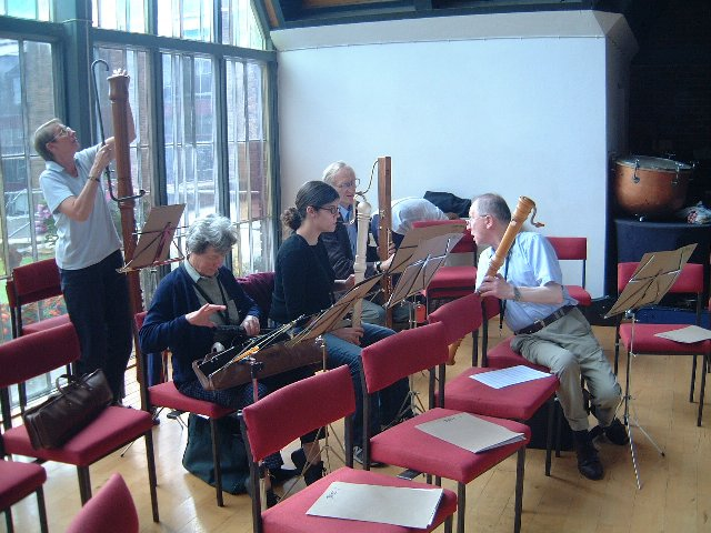 Larger Basses in the Recorder Orchestra