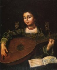 The Lute Player (Italian c. 1620)