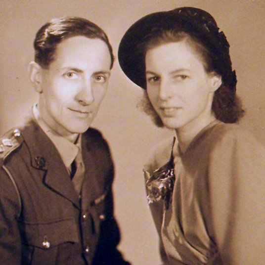 Thomas Blood and Margaret Ross Wedding Portrait