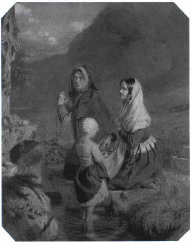 The blind girl at the Holy Well
