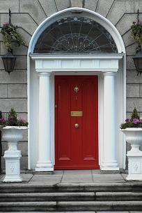 Typical door - Leeson Street, Dublin